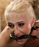 Bound in extreme devices, tortured, and made to squirt