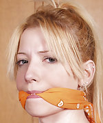 Roped, exposed and cleave gagged